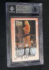 Stacy Keibler Signed 2003 Fleer WWE Divine Divas Card #57 Beckett Certified