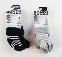 Bonds Baby Socks Tights Infant Warm Kids Girls Boys Toddler Cotton - 2 Pack