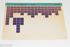 Microfich Ersatzteilkatalog Mofa Piaggo Ciao P / Ciao PV / Ciao PX Stand 04/1984