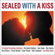 Sealed With A Kiss 75 ROCKIN LOVE SONGS Music Collection DIGIPAK New Sealed 3 CD