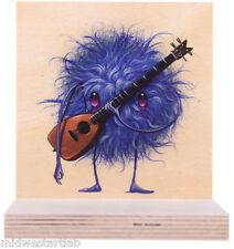 Phish Jeff Soto Art Print Poster Guitarist Guitar Seeker Friends on Wood S/#