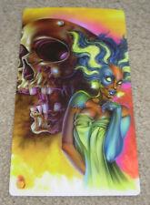 JOE CAPOBIANCO Art Print 6X11 BRIDE & SKULL Poster tattoo artist