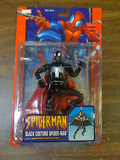 MARVEL SMC  Black Costume Spider-Man W/ Missile Launch Glider NEW FREE SHIP US