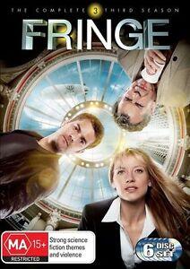 Fringe Season 3 (DVD, 2011, 6-Disc Set) SERIES THREE THIRD - MASSIVE SET !!