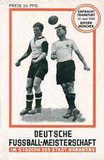 REPRINT Programm Deutsche Fußballmeisterschaft 1932 - Eintracht Frankfurt