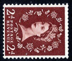 1955 2d Red-Brown St. Edward's Sideways Wmk SG543a SpecS37d Unmounted Mint