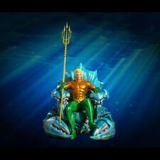 DC Aquaman On Throne Comic Version 1:3 Scale Statue Masterpiece Imaginarium Art
