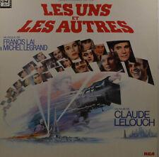 """LES UNS ET LES AUTRES - Francis Lai & Michel Legrand   LP 12""""   (Z529)"""