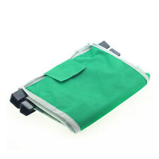Clip-To-Cart Supermarket Shopping Bags Foldable Reusable Grocery Large Trolley