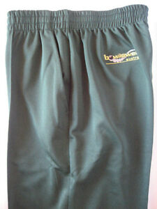 New! Bowlswear Men's Bottle Green Comfort Fit Trousers $47 with Free Postage!