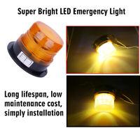 12V LED Car Truck Beacon Strobe Emergency Warning Flash Light Amber Lamp Yellow