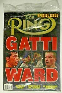 The Ring Magazine ARTURO GATTI vs MICKY WARD Special Issue NEW SEALED BAG boxing