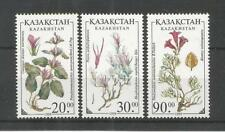 Kazajistán 1999 Flores SG, 257-259 u/mm nh Lote 5979 A