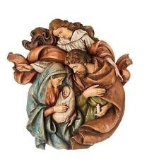 "Roman 14"" Holy Family Bust w/Angel Wall Piece #132662 Nib"