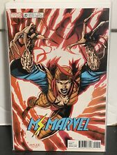Ms Marvel #20 Lady Deathstrike X-Men Trading Card Jim Lee Variant 2017 Marvel