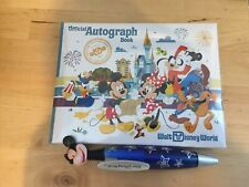 Official Disneyland Resort Autograph Book And Pen Mickey Mouse and Friends