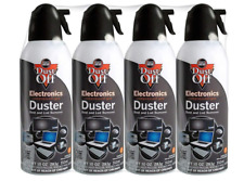 4 Pack Falcon Dust-Off Compressed Air Duster 10 oz Can Computer Keyboard Cleaner