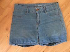 Ladies JACQUELINE DE YONG Denim Shorts Size Large 14 Light Blue