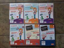 Lernsoftware CD Rom Grundschule 6 CD Roms, Lernen Englisch Mathematik