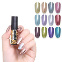 LILYCUTE Metallic Mirror Gel Polish Soak Off UV Gel Nail Art Varnish Manicure