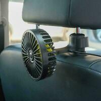 Adjustable 3 Speed USB Fan Air Cooling Fans For Car Sleep Study Seat School Y4M1