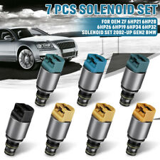 7Pcs Solenoid Valve Set OEM ZF6HP19 /6HP19 /ZF6HP26 /6HP26/ 6HP32 For BMW Audi