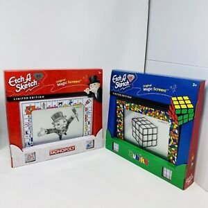 Etch A Sketch 60th Anniversary Rubik's Cube And Monopoly Limited Edition Bundle