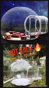 Rare Quality Weird Outdoor Camping Inflatable Bubble Tent Large DIY House Home