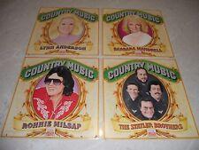 Bulk Var 4 X Country Time Life LP Albums Anderson-Mandrell-Milsap-Statler B NM