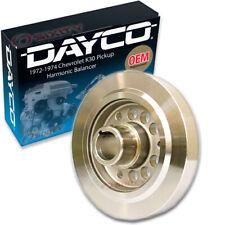 Dayco Engine Harmonic Balancer for 1972-1974 Chevrolet K30 Pickup 5.7L 6.6L iv