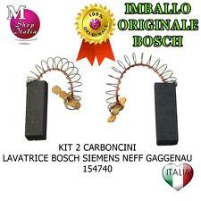 Bosch Motore Lavatrice laminato Spazzole di Carbonio x 2 154740