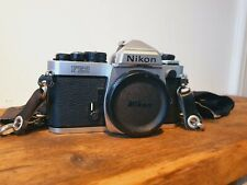 Nikon FE2 Silver 35mm SLR Film Camera Body