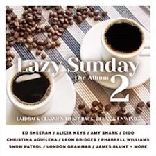 LAZY SUNDAY 2 feat Ed Sheeran, Amy Shark, James Blunt, Coldplay 2CD NEW