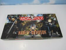 Harley Davidson Monopoly Authorized Edition Complete Great Condition Fast Ship