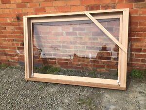 NEW 1200h X 1800w Gas Strut Awning / Servery Window KD Hardwood
