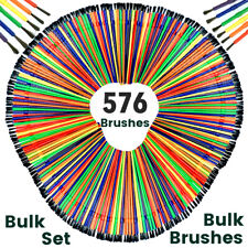 480 X Kids Paint Brushes Kids Brushes Craft Brushes Plaster Painting Brushes