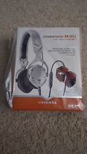 V-MODA - Crossfade M-80 On-Ear Headphones - White/Silver M-80V-U-WSILVER