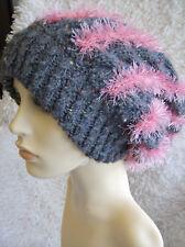 'Neon Tracks' Womens/MensSlouchy Hat - Easy Aran Knitting Pattern