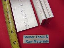"4 Pieces 1/4"" X 2"" ALUMINUM 6061 FLAT BAR 4"" long T6 .250"" Plate New Mill Stock"