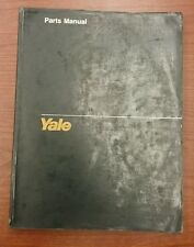 Yale Fork Lift Truck Parts Manual ESC-AB 020-030