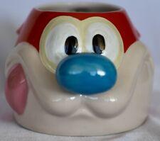 Nickelodeon Nicktoons Nick Box Ren & STIMPY Ceramic Figural Cat- Coffee Mug/ Cup