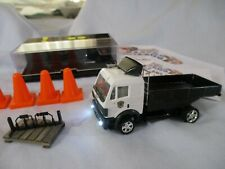 1/87th HO Scale RC Semi Flatbed Truck (1-OFF) POCKET RACER + Herpa = MONSTER