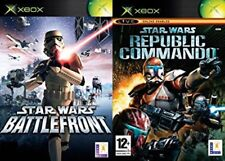 star wars battlefront & starwars republic commando PAL  XBOX/XBOX ONE