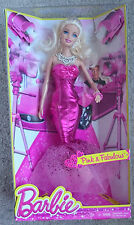 Barbie Pink and Fabulous Evening Gown Fashion Doll