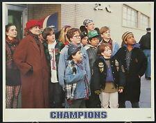 The Mighty Ducks (1992) aka Champions International Lobby Card Set