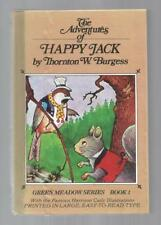 The Adventures of Happy Jack w Burgess Museum Sticker HB/PC