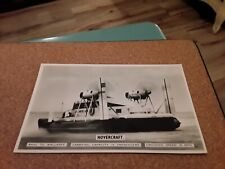 More details for bamforth & co postcard hovercraft rhyl, wales to wallasey, wirral, merseyside