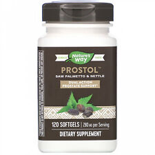 Nature's Way, Prostol, Saw Palmetto And Nettle, 280 Mg, 120 Softgels