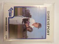 1987 ProCards Shreveport Minor League Baseball Complete Team Set