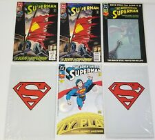 N) Lot of 6 DC Superman Comic Books